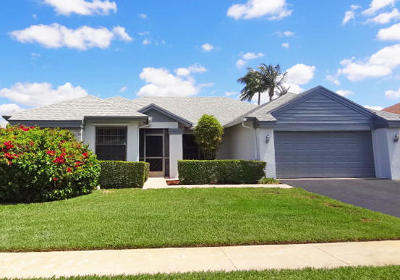 Boca Raton Single Family Home For Sale: 18255 181st Circle S