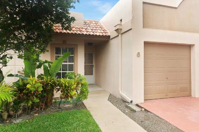 Boca Raton Single Family Home For Sale: 18771 Stewart Circle #6