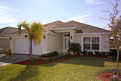 Fort Pierce Single Family Home For Sale: 5313 Benedetto Place