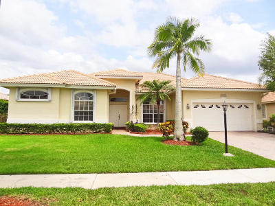 Boca Raton Single Family Home For Sale: 12420 Rockledge Circle