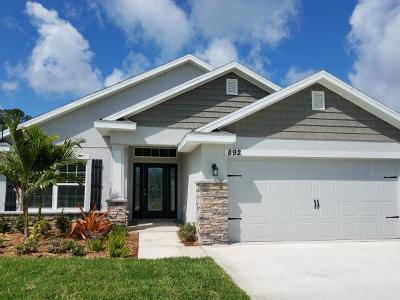 Fort Pierce Single Family Home For Sale: 5333 Benedetto Place