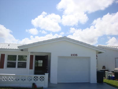 Boynton Beach FL Single Family Home For Sale: $239,900