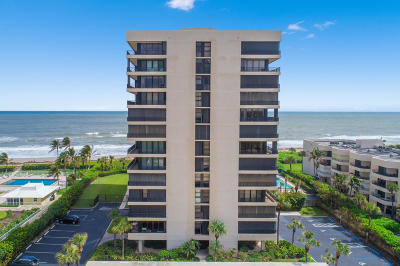 Juno Beach Condo For Sale: 450 Ocean Drive #802
