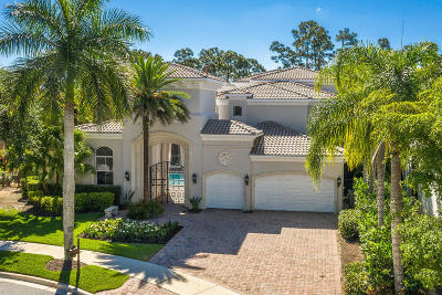 Palm Beach Gardens Single Family Home For Sale: 108 Via Quantera
