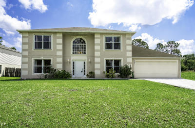 Port Saint Lucie Single Family Home For Sale: 3871 SW Chaffin Street