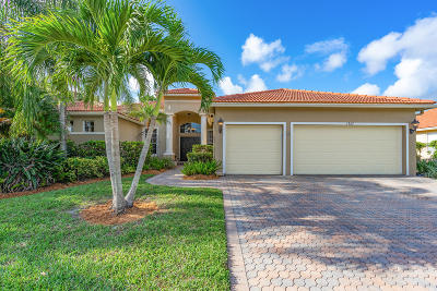West Palm Beach Single Family Home For Sale: 1565 Stonehaven Estates Drive