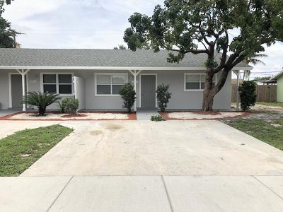Lake Worth, Lakeworth Rental For Rent: 3076 Prince Drive #B