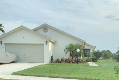 West Palm Beach Single Family Home For Sale: 4487 Brook Drive