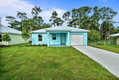 Stuart Single Family Home For Sale: 4888 SE Isabelita Avenue