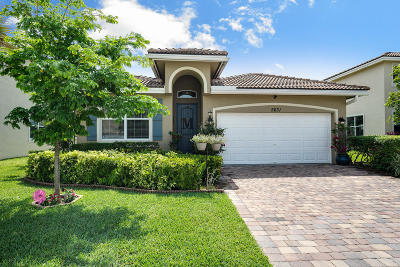 Greenacres Single Family Home For Sale: 5631 Caranday Palm Drive