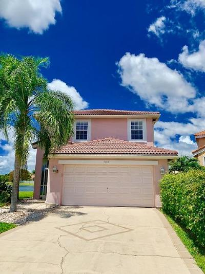 Lake Worth, Lakeworth Rental For Rent: 7948 La Rose Court