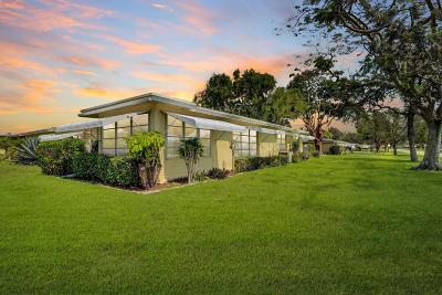 Delray Beach Single Family Home For Sale: 167 High Point Terrace W #d