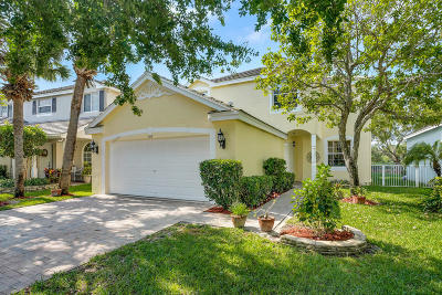 Royal Palm Beach Single Family Home For Sale: 130 Canterbury Place
