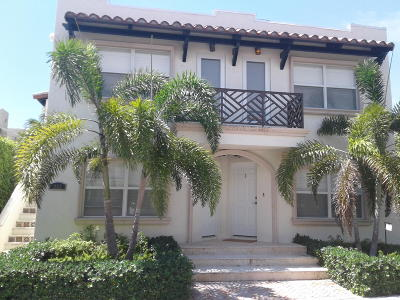 Palm Beach Rental For Rent: 252 Oleander Avenue #2