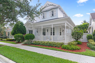 Jupiter Single Family Home Contingent: 192 Paradise Circle