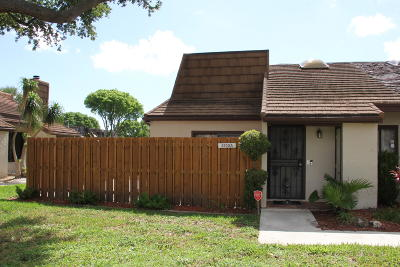 West Palm Beach Single Family Home For Sale: 4200 Palm Bay Circle #A