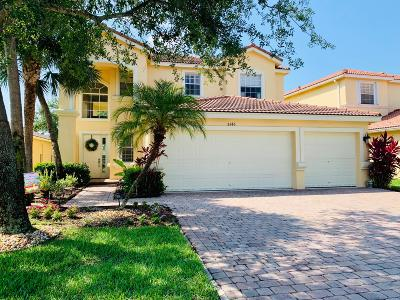 Lake Worth Single Family Home For Sale: 8146 Via Bolzano