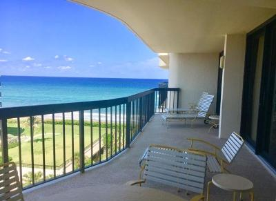 Palm Beach Condo For Sale: 3440 S Ocean Boulevard #704s