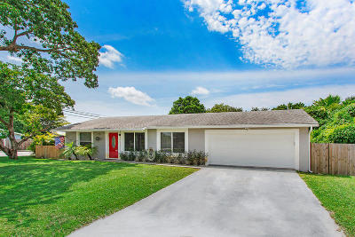 Lake Worth, Lakeworth Single Family Home For Sale: 3416 Amberjack Road