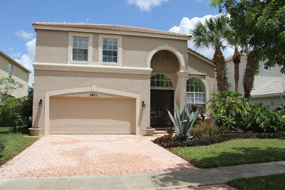 Royal Palm Beach Single Family Home For Sale: 2035 Reston Circle