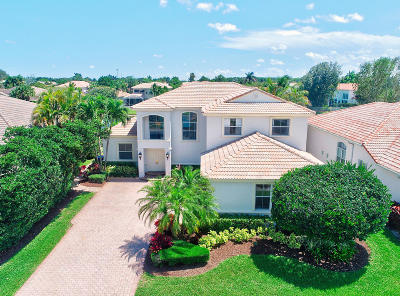 Boca Raton Single Family Home For Sale: 11090 Blue Coral Drive