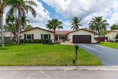 Coral Springs Single Family Home For Sale: 8826 NW 27 Street