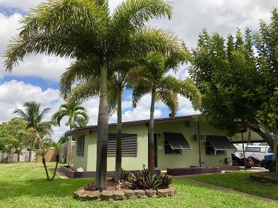 Lantana Single Family Home For Sale: 1037 W Jennings Street
