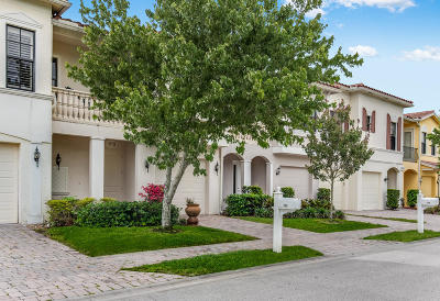 Vero Beach Townhouse For Sale: 6095 Bella Rosa Lane #102