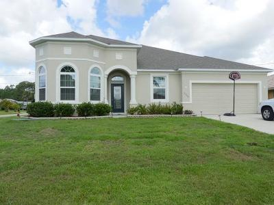 Port Saint Lucie Single Family Home For Sale: 2356 SW Kent Circle