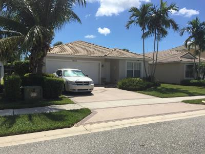 Lake Worth Single Family Home For Sale: 6820 Hendry Drive