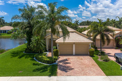 Delray Beach Single Family Home Contingent: 7679 Eagle Point Drive