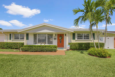 Palm Beach Gardens Single Family Home For Sale: 9886 Daisy Avenue