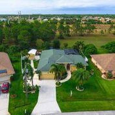 Port Saint Lucie Single Family Home For Sale: 5579 NW North Crisona Circle