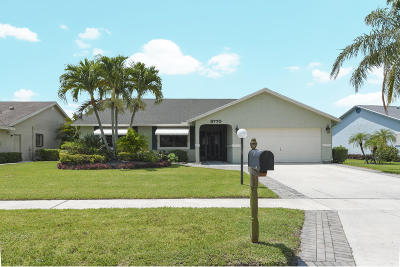 Lake Worth, Lakeworth Single Family Home For Sale: 8770 Sand Lake Court