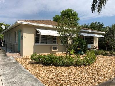 Lake Worth, Lakeworth Rental For Rent: 116 O Street #1