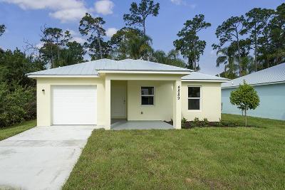 Stuart Single Family Home For Sale: 4889 SE Isabelita Avenue