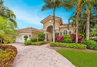 Delray Beach Single Family Home For Sale: 8054 Laurel Ridge Court