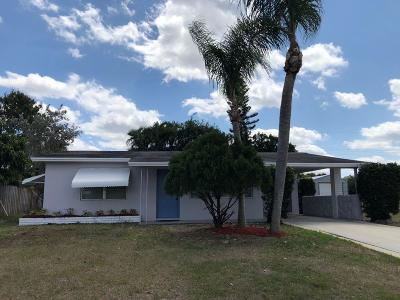 Lake Worth Single Family Home For Sale: 4168 Kivey Drive