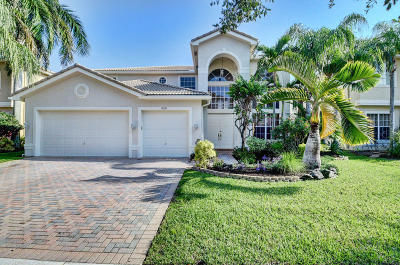 Boca Raton Single Family Home For Sale: 11785 Preservation Lane