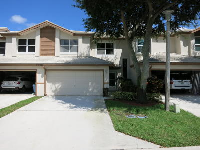 Lake Worth Townhouse For Sale: 7740 Stone Harbour Drive #2
