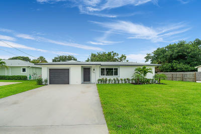 Palm Beach Gardens Single Family Home For Sale: 8567 Sunset Drive