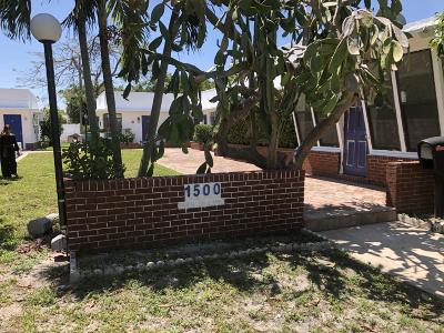Fort Lauderdale Multi Family Home For Sale: 1500 NE 6th Court