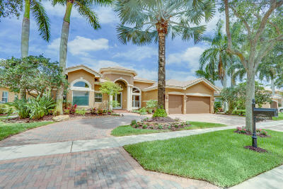 Boca Raton Single Family Home For Sale: 19450 Saturnia Lakes Drive