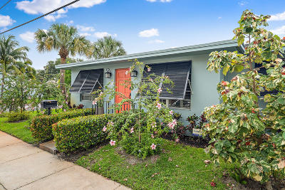 Lake Worth Single Family Home For Sale: 729 Palmway