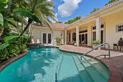 Palm Beach Gardens Single Family Home For Sale: 105 Chasewood Circle