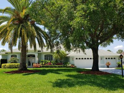 Port Saint Lucie Single Family Home For Sale: 2632 SW River Shore Drive