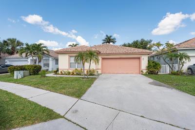 Boynton Beach Single Family Home For Sale: 1053 Fosters Mill Road