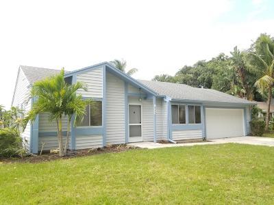Jupiter Single Family Home For Sale: 18359 Flagship Circle