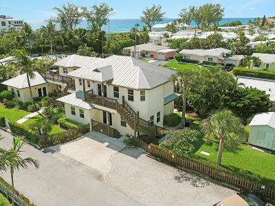 Ocean Ridge Multi Family Home For Sale: 21 Oceanview Drive