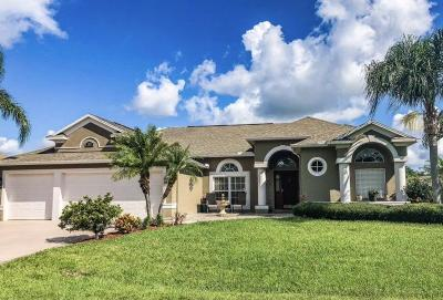 Fort Pierce Single Family Home For Sale: 2604 Palm Lakes Avenue
